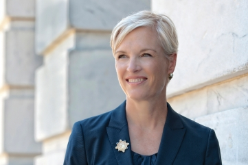 Cecile Richards portrait