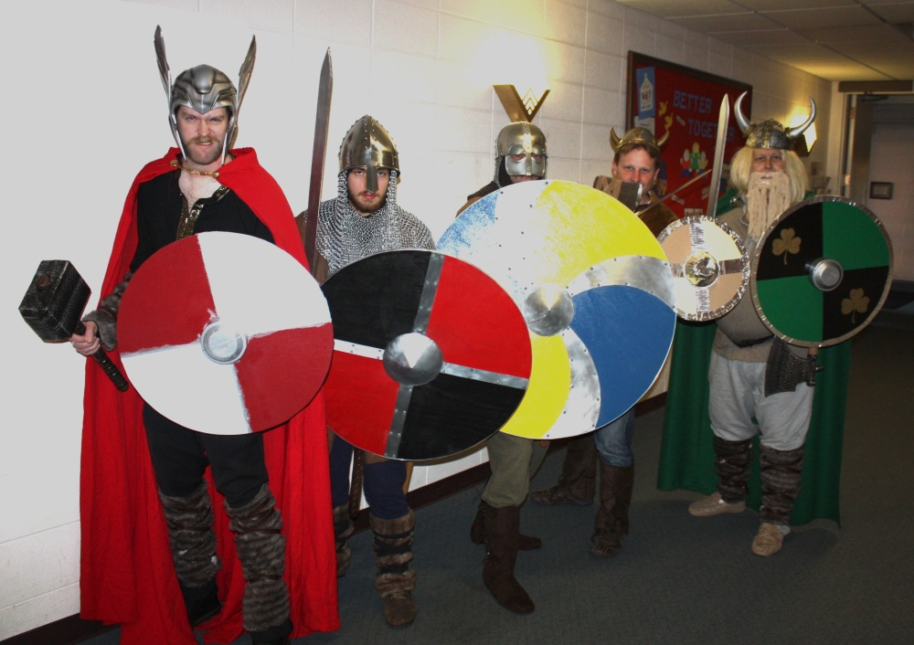 Vikings in the Hallway (1)